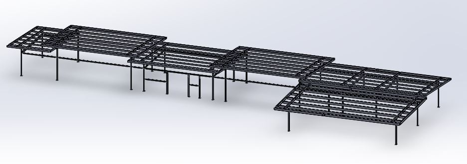 A SolidWorks assembly designed by the engineering team at GSI. R&D Projects.