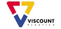Viscount Plastics logo. Our clients.