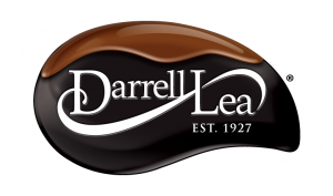 Darrell-Lea logo. Our clients.