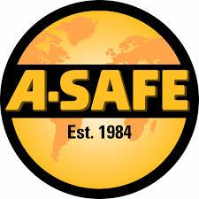 A-Safe logo. Our clients.
