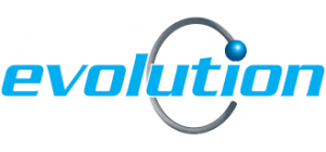 Evolution Group Holdings logo. Our clients.