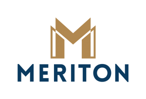 Meriton Group logo. Our clients.